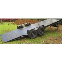 2019 Double Axle Heavy Equipment Tilt Trailer 20' Long, 6' Wide