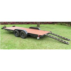 "2019 Heavy Duty Auto/Equipment Trailer w/ Ramps 18' L, 6'11"" W"