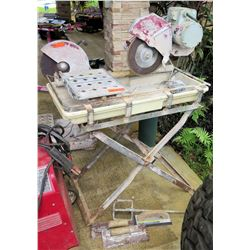 MK Diamond Products Tile Saw Model MK-101 w/ Folding Stand