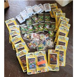 Multiple Misc Collectible Pokemon - Game Cards, etc