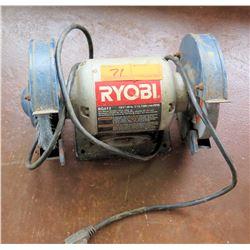 """Ryobi BG612 120V 60Hz 6"""" Bench Grinder Tool"""
