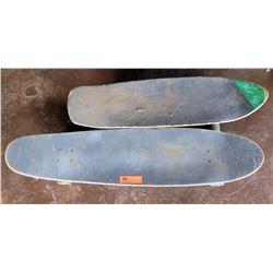 Qty 2 Skateboards - 1 Coconuts Company, 1 Hartwave Towboard