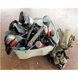 4 Paintball Guns & Misc Gear
