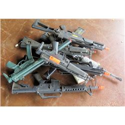 6 Spring/Electric Airsoft Rifles