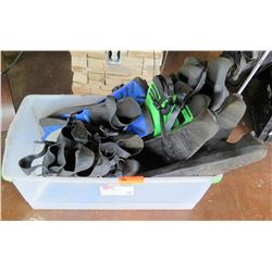 Bin Multiple Misc Dive Snorkel Fins - US Divers, etc