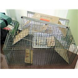 Multiple Misc Pet Dog Folding Kennels & Animal Trap