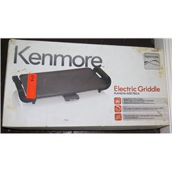 Kenmore Large 10  x 18  Electric Griddle Model 88916 in Box