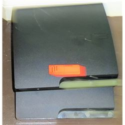 Two  Play Station 3 Game Units