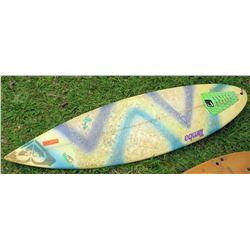 Tamba Geometric Design Short 3 Fin Surfboard