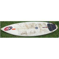 CC Counter & Culture 3 Fin Surfboard w/ Leash