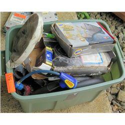 Bin Misc Parts - Napa Air Filters, U-Joints, Reusable Dispenser, etc