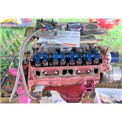 1969 Mopar 340 CIO High Performance 400 HP Supercharged Race Engine