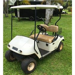 EZ Go Gas Golf Cart - Starts Runs Drives - See Video