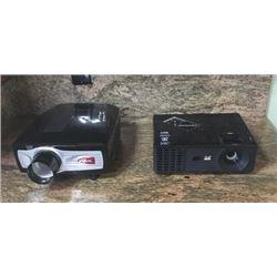 Qty 2 Projectors  VVME & Viewsonic - Working
