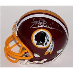 Joe Theismann Signed Redskins Mini-Helmet (JSA COA)