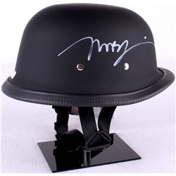 "Mark Boone Junior  Tommy Flanagan Signed ""Sons of Anarchy"" Biker Helmet (Radtke COA)"