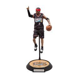 Allen Iverson Signed Enterbay Figurine LE 30 (UDA COA)