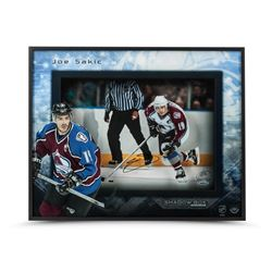 Joe Sakic Signed Captain Avalanche 20x16x2 Custom Framed Shadow Box LE 25 (UDA COA)