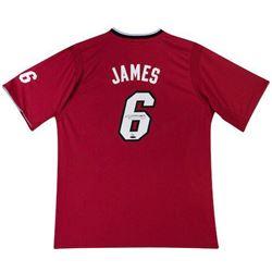 "LeBron James Signed Heat ""2013 Christmas"" Jersey LE 25 (UDA COA)"