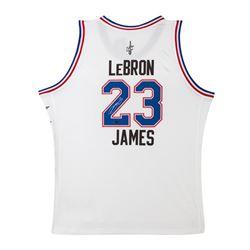 LeBron James Signed 2015 All-Star Jersey (UDA COA)