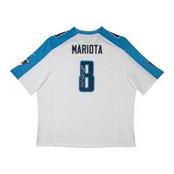 Marcus Mariota Signed Titans Nike Game Jersey (UDA COA)