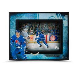 Peter Forsberg Signed Nordiques 16x20x2 Custom Framed Shadow Box Display (UDA COA)