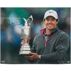 "Rory McIlroy Signed ""143rd Open Championship"" LE 16x20 Photo (UDA COA)"