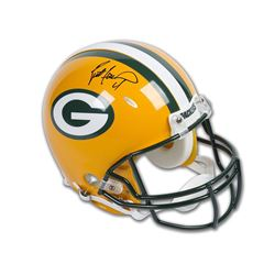 Brett Favre Signed Packers Full-Size Authentic On-Field Helmet (UDA COA)
