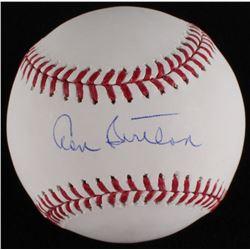 Don Sutton Signed OML Baseball (MLB Hologram)