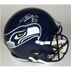 Eddie Lacy Signed Seahawks Full-Size Speed Helmet (Lacy Hologram)