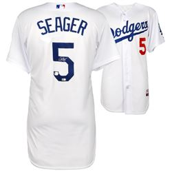 Corey Seager Signed Dodgers Authentic Majestic Jersey (Fanatics Hologram  MLB Hologram)