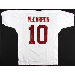 AJ McCarron Signed Alabama Crimson Tide Jersey (Radtke COA)