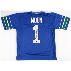 "Warren Moon Signed Seahawks Jersey Inscribed ""HOF 06"" (Moon Hologram)"