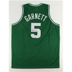 Kevin Garnett Signed Celtics Jersey (PSA COA)