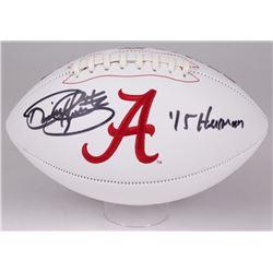 "Derrick Henry Signed Alabama Crimson Tide Logo Football Inscribed ""'15 Heisman"" (Radtke COA)"