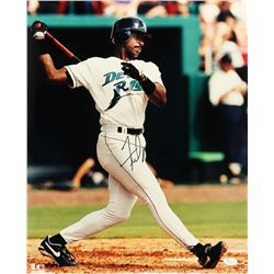 Fred McGriff Signed Devil Rays 16x20 Photo (JSA COA)
