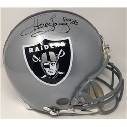 "Howie Long Signed LE Raiders Full-Size Authentic On-Field Helmet Inscribed ""HOF 00"" (Steiner COA)"