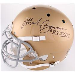 "Mark Bavaro Signed Notre Dame Fighting Irish Full-Size Authentic On-Field Helmet ""IRISH"" (Beckett Ho"