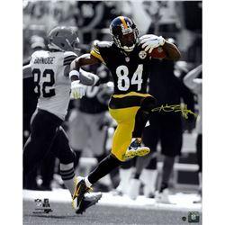 Antonio Brown Signed Pittsburgh Steelers 16x20 Photo (Steiner COA)