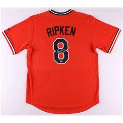 Cal Ripken Jr. Signed Orioles Cooperstown Majestic Jersey (MLB Hologram)