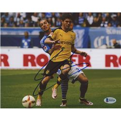 Christian Pulisic Signed Borussia Dortmund 8x10 Photo (Beckett COA)