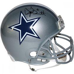 Dak Prescott Signed Cowboys Full-Size Authentic On-Field Helmet (Steiner COA)