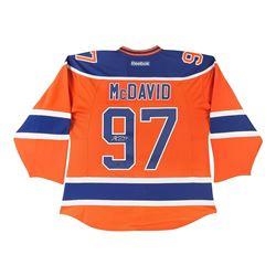 Connor McDavid Signed Oilers Captain Jersey (UDA COA)