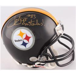 "Louis Lipps Signed Steelers Mini-Helmet Inscirbed ""Go Steelers!"" (Radtke COA)"