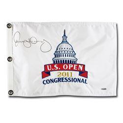 Rory McIlroy Signed 2011 U.S. Open Pin Flag (UDA COA)