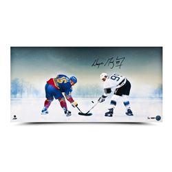 """Wayne Gretzky Signed """"Frozen Pond"""" 15x30 Limited Edition Photo (UDA COA)"""