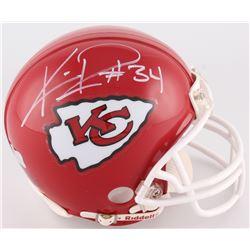 Knile Davis Signed Chiefs Mini Helmet (Radtke COA)