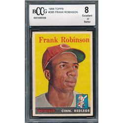 1958 Topps #285 Frank Robinson (BCCG 8)