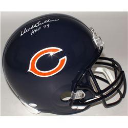 """Dick Butkus Signed Bears Full-Size Helmet Inscribed """"HOF 79"""" (JSA COA)"""