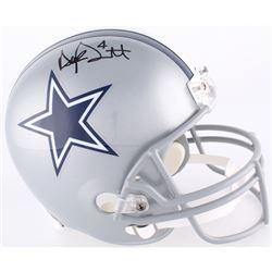 Dak Prescott Signed Cowboys Full-Size Helmet (JSA COA)